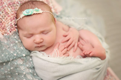 Newborn baby girl session Mayo Sligo Roscommon