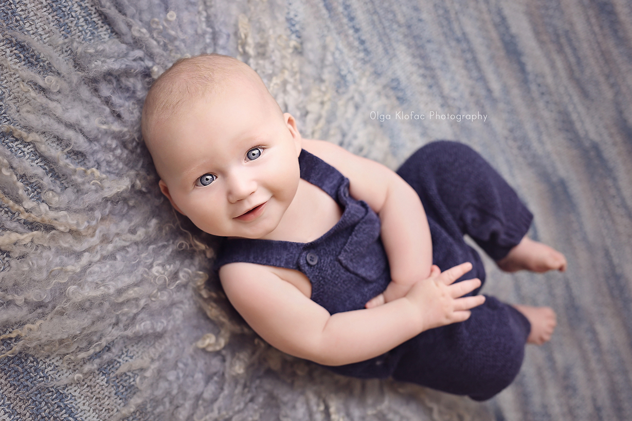 professional photograph of baby boy by Olga Klofac Photography Mayo