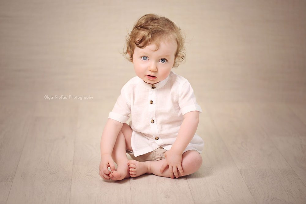cute photo of 11 month old baby boy