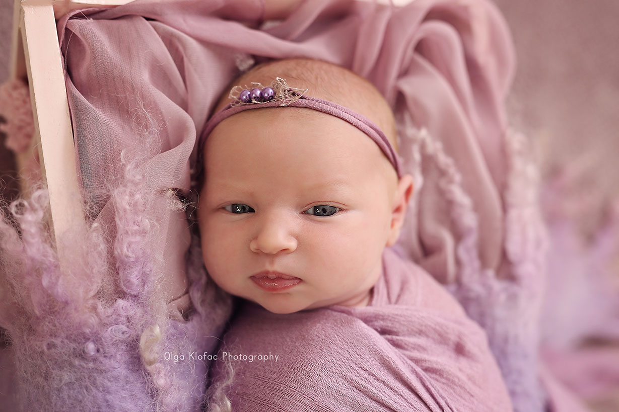 newborn baby photo session by Olga Klofac Photography Charlestown Mayo