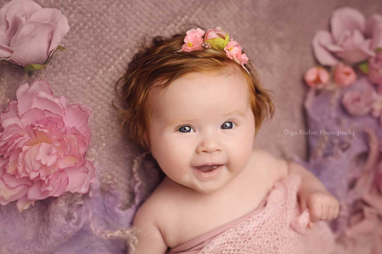 4-month-old Baby photo session by Olga Klofac Photography Mayo Sligo Roscommon Galway