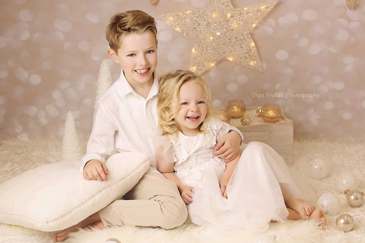 Christmas mini session for children by Olga Klofac Photography Mayo Sligo Roscommon Leitrim