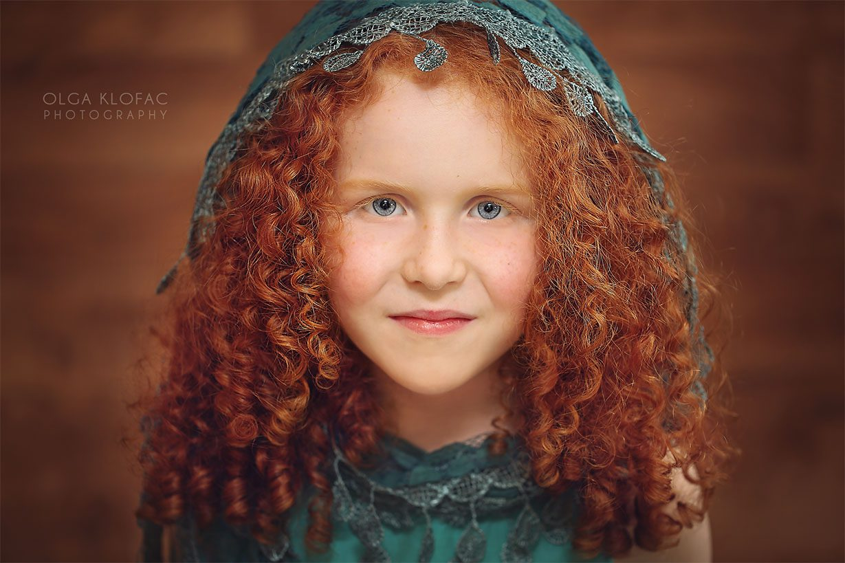 portrait of a girl by olga klofac photography, portrait photographer family kids photographer Mayo Sligo Roscommon Galway Leitrim