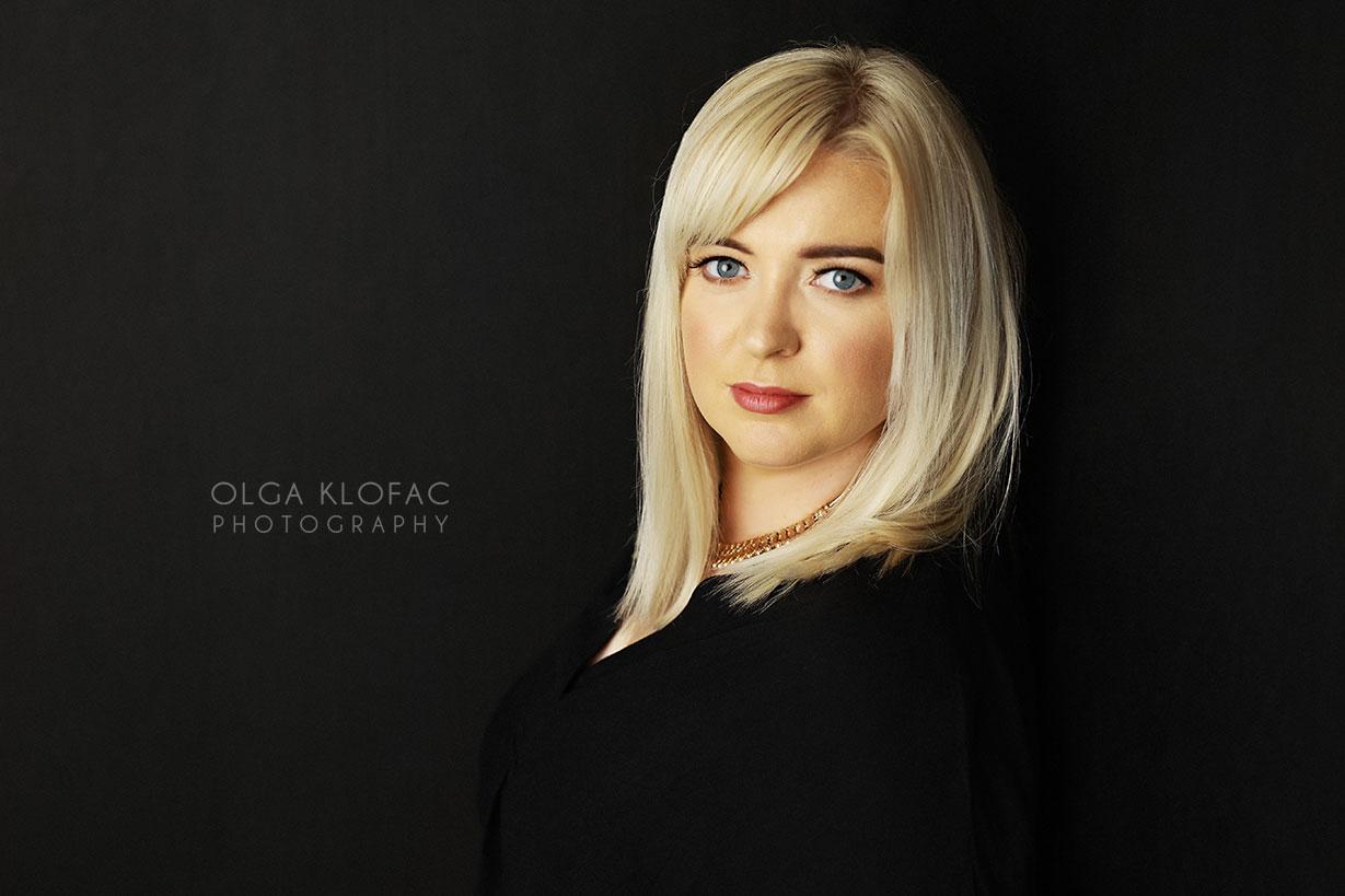 professional headshots and personal branding by Olga Klofac photography Mayo Sligo Roscommon Leitrim Galway