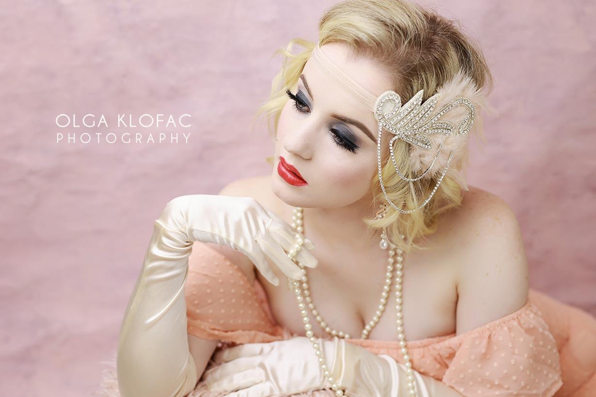 gatsby styled photoshoot by olga klofac photography, portrait photographer Mayo Sligo Roscommon Galway Leitrim