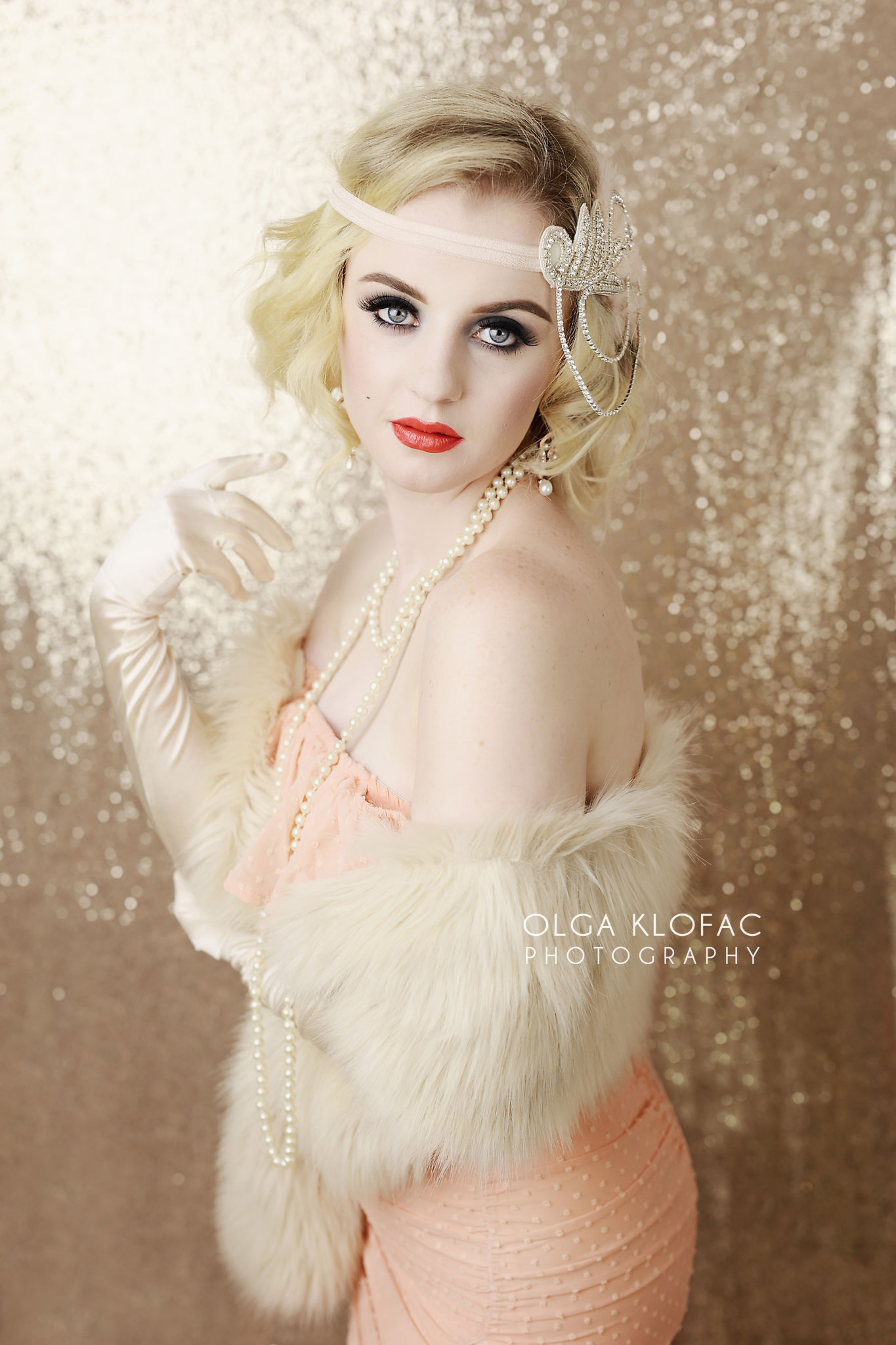 Great Gatsby styled photoshoot, magazine style shoot for women by olga klofac photography, portrait photographer Mayo Sligo Roscommon Galway Leitrim, women portraits