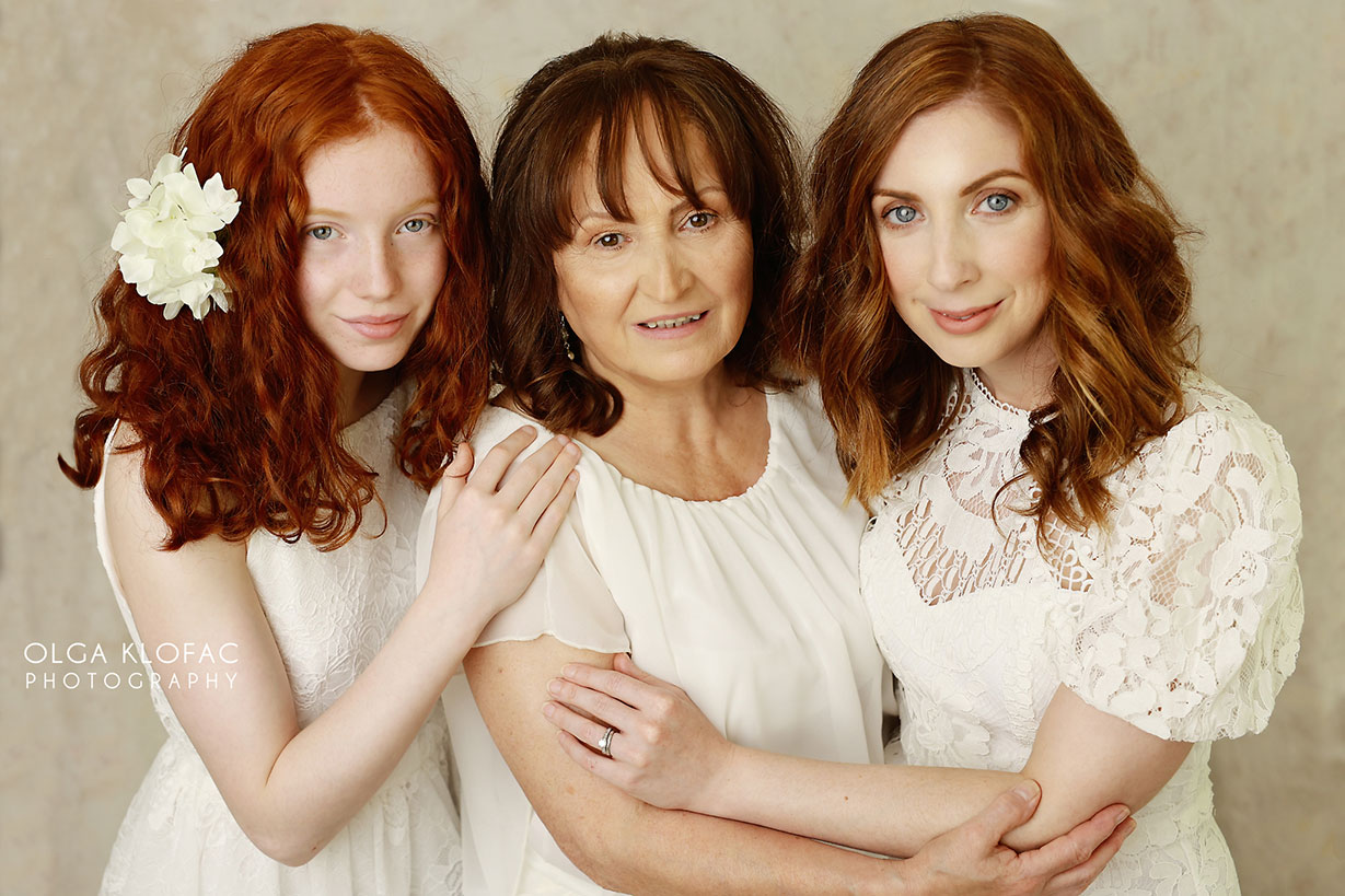 generation family photo by olga klofac photography, portrait photographer family kids photographer Mayo Sligo Roscommon Galway Leitrim