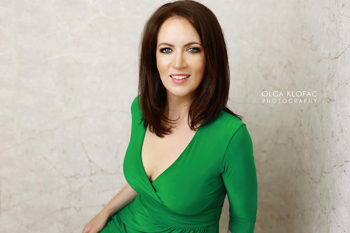 beautician business headshot by Olga Klofac photography Ballina Castlebar Sligo Galway Claremorris Athlone Leitrim