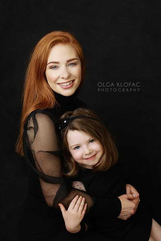 mother and daughter photo by olga klofac photography, portrait photographer family kids photographer Mayo Sligo Roscommon Galway Leitrim